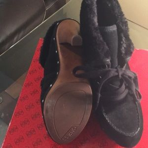 Guess Shoes - Guess Suede Booties sz 9.5